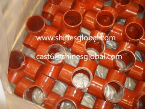 China SML Pipe Fittings/EN877/DIN19522 Cast Iron Fittings on sale