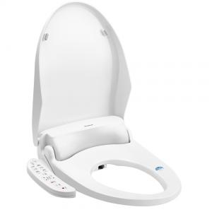 China Ivory White Color Heated Toilet Seat Bidet Seat Antibacterial Function V Shape on sale