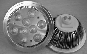 China 9W Energy Saving PureWhite 47 - 63Hz LED Par Lamps on sale