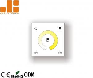 China Color Temperature Electronic Dimmer Switch , 2CH Control Dimmer Switch For LED Strip Lights on sale