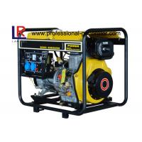 Home Emergencies Moving Small Diesel Generator 5kw PF 1 with Electric Start
