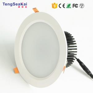 China High quality 240mm cutout 10 inch 270mm 50W LED CREE COB Panel Downlight on sale