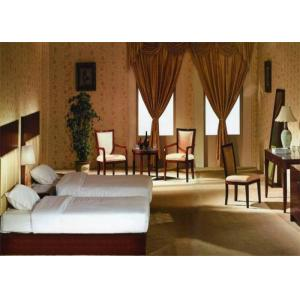 China Contemporary Durable Hotel Bedroom Furniture Sets Wooden Frame Environment - Friendly on sale