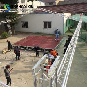 China Hot Sale Outdoor Event Wholesale Portable aluminum performance stage for outdoor concert on sale