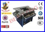 Black Diy Arcade Game Machine , 3 Side Coin Operated Arcade Machines
