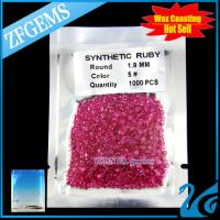 loose synthetic ruby manufacturer