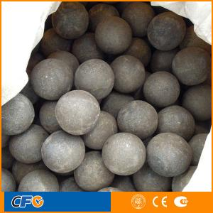 China 80mm forged grinding media steel ball in ball mill on sale