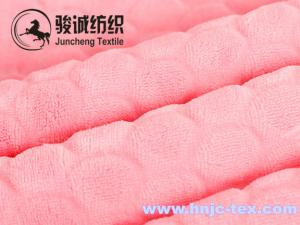 China Cutting sherpa coral fabrics coral fleece fabric for blanket fabric and apparel on sale