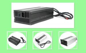 China 10A Electric Motorcycle 48 Volt Battery Charger PFC 110 - 230Vac Input Max 58.4V on sale