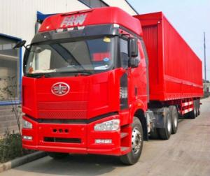 6eb8aa41f4 ... Quality Full Opening Dry Van Trailer 3 Axles Container Semi Trailer  Corrugated Plate for sale