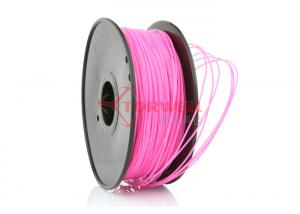 China Toys 3D Printing 3MM PLA Filament Pink For Printerbot Felix printers on sale