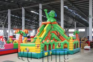 China pvc inflatable playhouse slide / inflatable slide on sale on sale