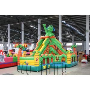 China pvc inflatable playhouse slide / inflatable slide on sale on sale