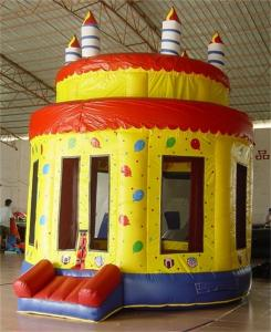 Onion Dome Cake Commercial Inflatable Bouncers birthday party bounce