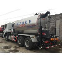 China Road Construction Special Purpose Trucks , Asphalt Distributor Truck 6x4 10000L on sale