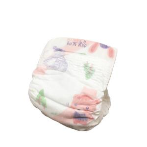 China Machine manufacturing organic dry plus baby print diaper on sale
