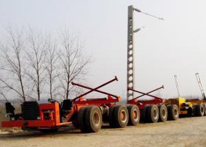 China 200 Ton Multi Axle Self - Propelled Transport Girder Modular Trailer on sale