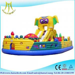 China Hansel newly designed indoor inflatable party slide cheap inflatable slides for sale on sale