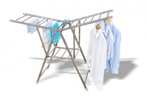 China Foldable wing quilt and clothes drying rack wholesale on sale