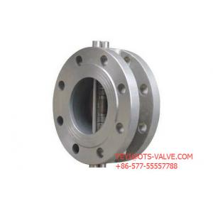 China Double Disc Type Flanged Check Valve 4 Inch ANSI 600 LB Carbon Steel on sale