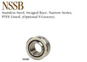 China NSSB Stainless Steel Spherical Bearings Narrow Series For Medical Equipment on sale