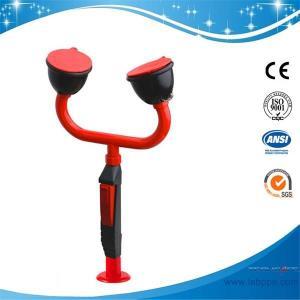 China SH755K21-techsafe Deck/bench mounted eye wash,brass,faucet mounted eyewash emergency eye washer eye wash machine Station on sale