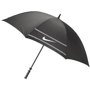 China Top quality automatic 28 aluminum double canopy windproof golf umbrella with buttom on rubber handle on sale