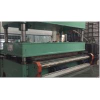 China Continuous Available Carpet Tile Cutting Machine 120cm Width 12 KW Total Power on sale
