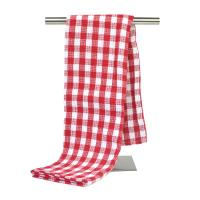 80% Polyester and 20% Polyamide Yarn Dyed Kitchen Tea Towel Home Dish Cloth with Checker Pattern
