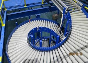 China High Speed Flexible Conveyor System Reliable Spiral Type For Products Transportation on sale