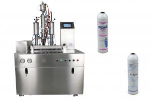 China De alta capacidade da máquina de enchimento do líquido refrigerante de HCFC e da máquina limpar/selagem on sale