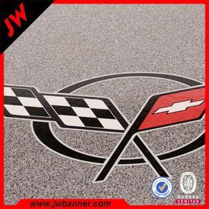 China Advertise custom design Eco vinyl floor tile digital printing sticker on sale
