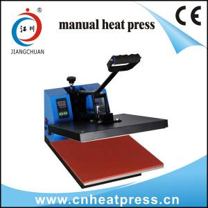 China Manual T-shirt heat press machine on sale