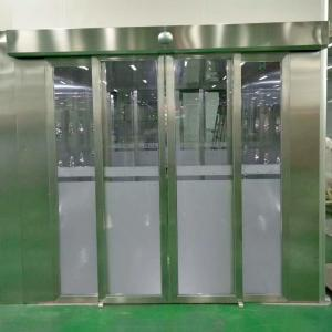 China Clean Room Air Shower With Auto Sliding doors for both people and goods on sale