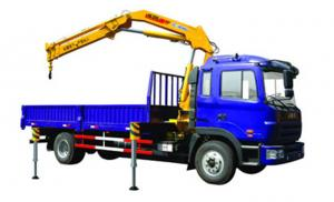 China Durable 11meters Truck Mounted Crane 6300kg For Lifting Construction Materials on sale