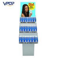 Economical Blue Innovative POS Displays Shop Retail Light Bulb Lamp Case