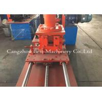 Drywall Grid 3kw Stud And Track Roll Forming Machine With Servo Motor