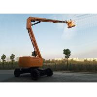 Articulated Boom Upright Mobile Elevating Work Platform Diesel Powered 18.1M Maximum Horizontal Reach