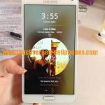 China MP3 WAV AMR AAC Wifi 3G Phone / Finger Print Cell Phone Samsung Galaxy Note 4 wholesale