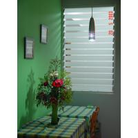 Clear Adjustable Glass Shutter Window Vertical Blinds For Commercial