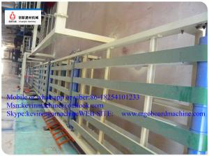 China CE Magnesium Oxide Board Production Line for 1300mm Width Unlimited Length on sale