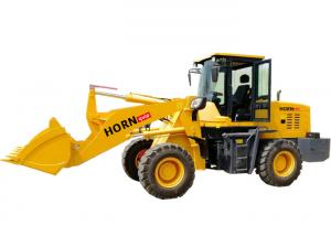 China 936A Small Wheel Loader / 4WD Hydraulic Compact Tractor With 2200kg Rated Load on sale