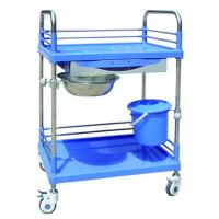 ABS Steel-Plastic Instrument Medical Equipment Trolley BT-SPY005 With Drawer