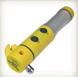 China Safety hammer flashlight multifunction emergency light on sale