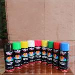 65x158 mm  100% Acrylic Spray Paint  many color  lemon yellow  used in metal,wood .glass,leather,ceramics and plastics