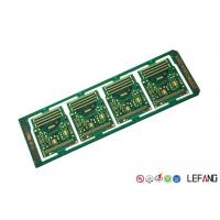 China 10 Layers Printed Circuit Board PCB Green Solder Mask ENIG Surface Treatment on sale