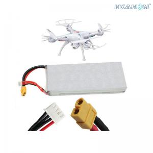 China 4S 12v DC Lithium Ion Battery Pack , Lithium Polymer Battery 12v For RC Helicopter UAV on sale