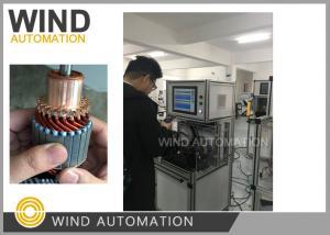 China Commutator OD Below 60mm Starte Armature Testing Machine WIND-ATS-02 on sale