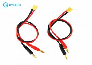 China 4.0mm Banana Plug To XT30 Charge Custom Cable Assemblies Connector For RC Helicopter Battery on sale