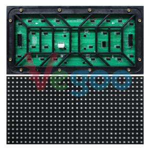 China High Resolution Full Color 10mm SMD LED Module Led Advertising Screen on sale